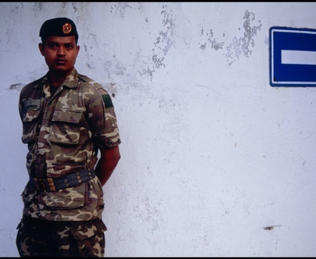 Ohad Maiman, Soldier (Male, Maldives), 2006