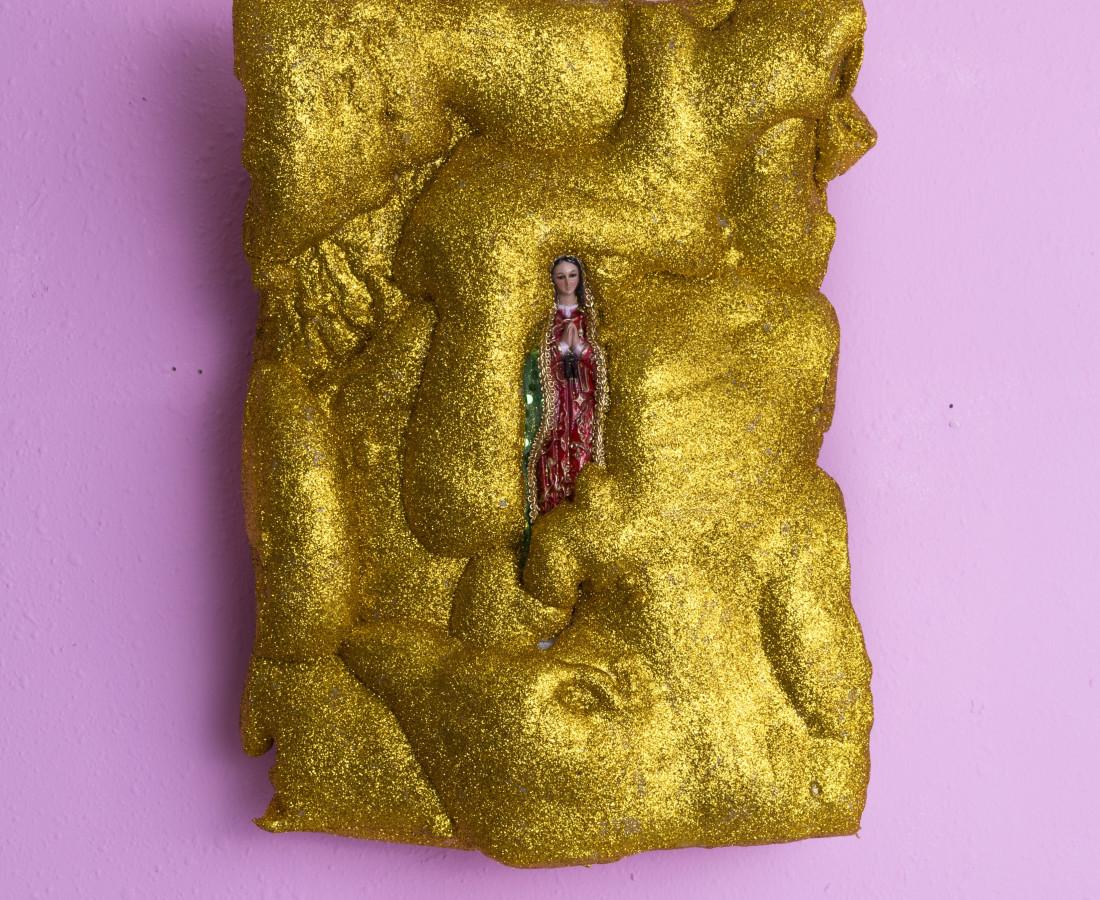 Martin Wannam, Virgen Brillante, 2018