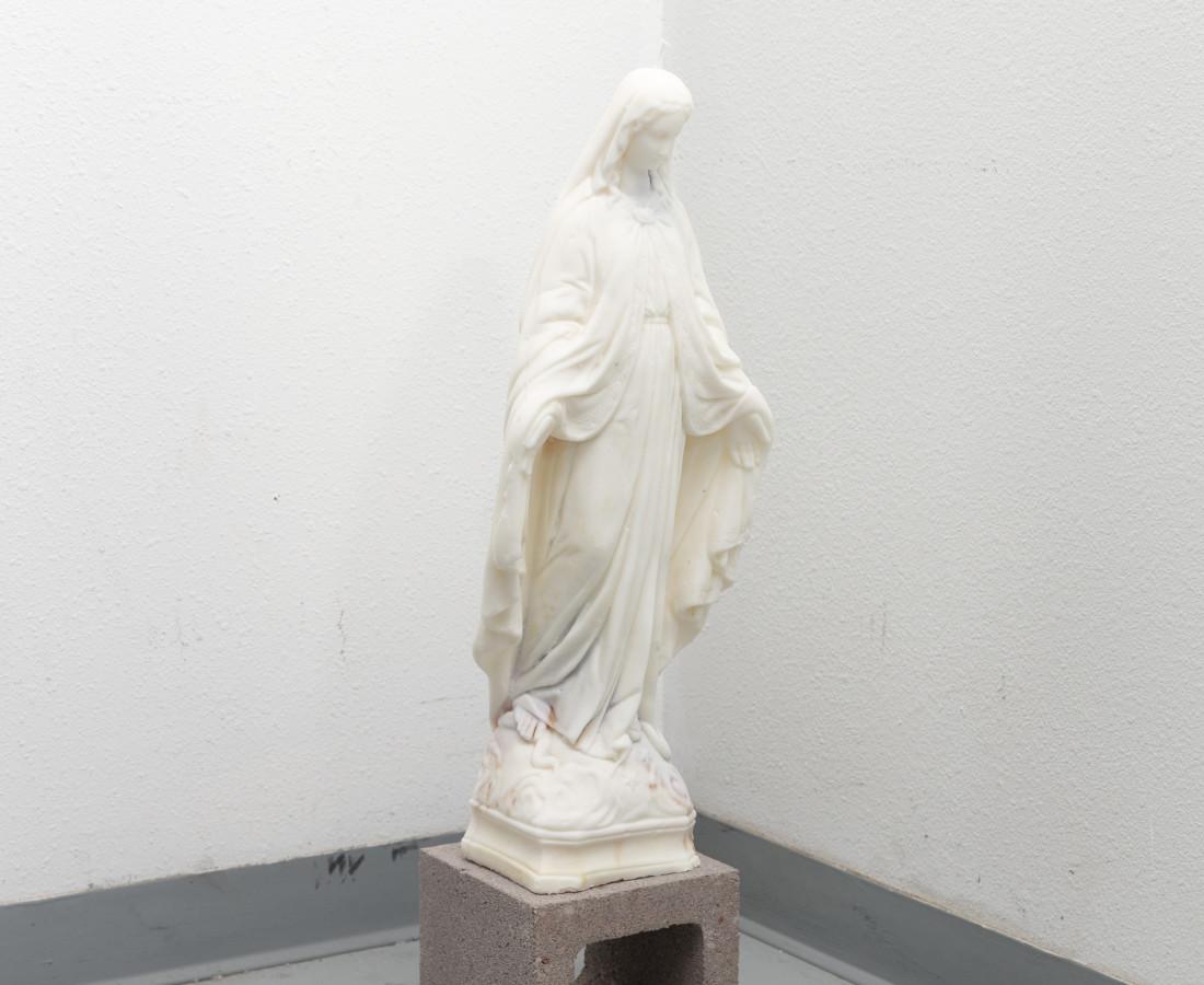 Martin Wannam, Virgen Candle, 2019