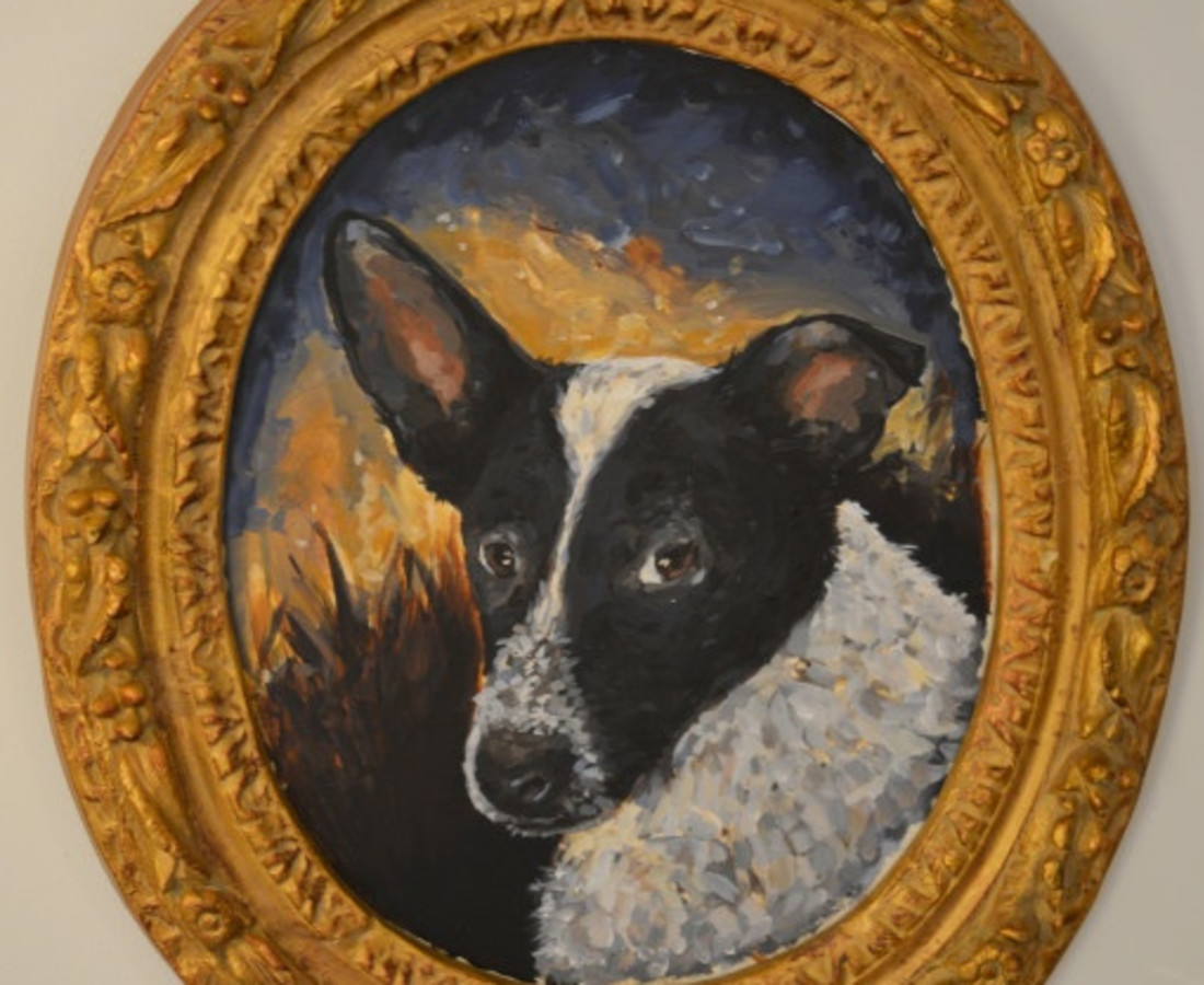 Chaz John, Portrait of Rez Dog #2, 2019