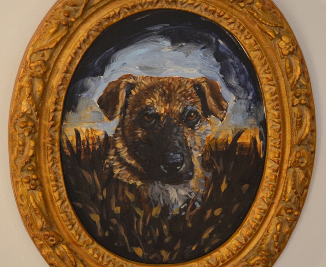 Chaz John, Portrait of Rez Dog #6 (Fergie)