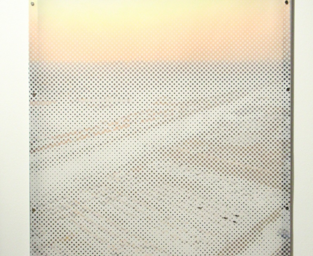 Florentine Ruault Parking Fine art print on aluminium frame 100 x 75 cm 39 3/8 x 29 1/2 in Edition of 3