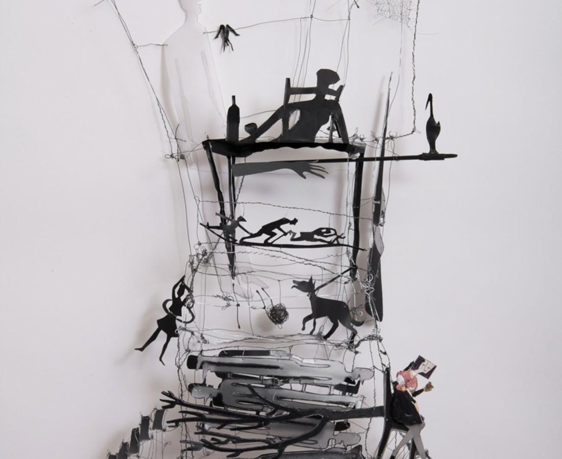 Corinne Veret-Collin La table au fusil, 2015