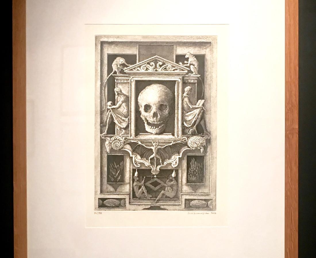 Érik Desmazières, Miroir des Vanités, 2012
