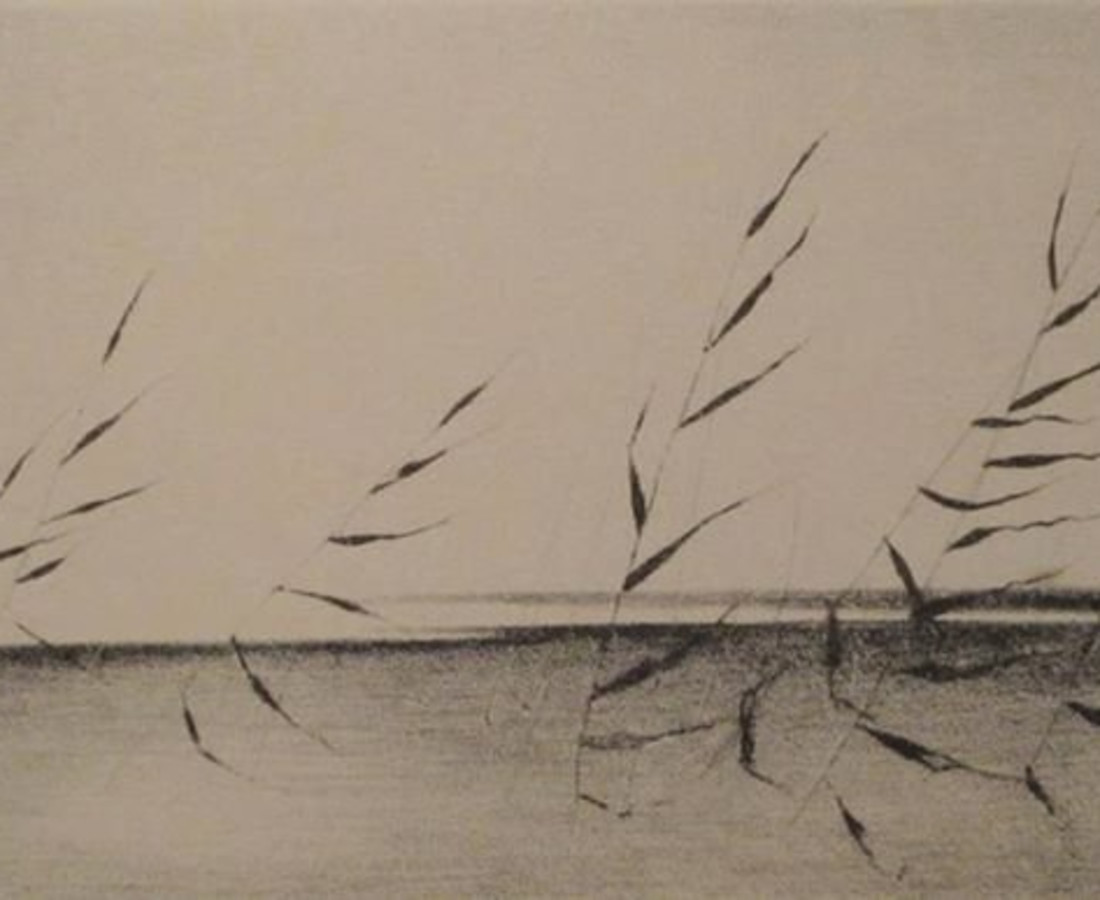 Gunnar Norrman, Vajande vass (Roseaux se balançant), 1958