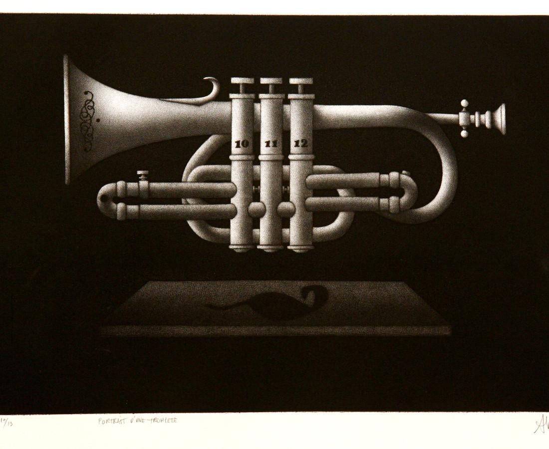 Mario Avati, Portrait d'une trompette, 1967