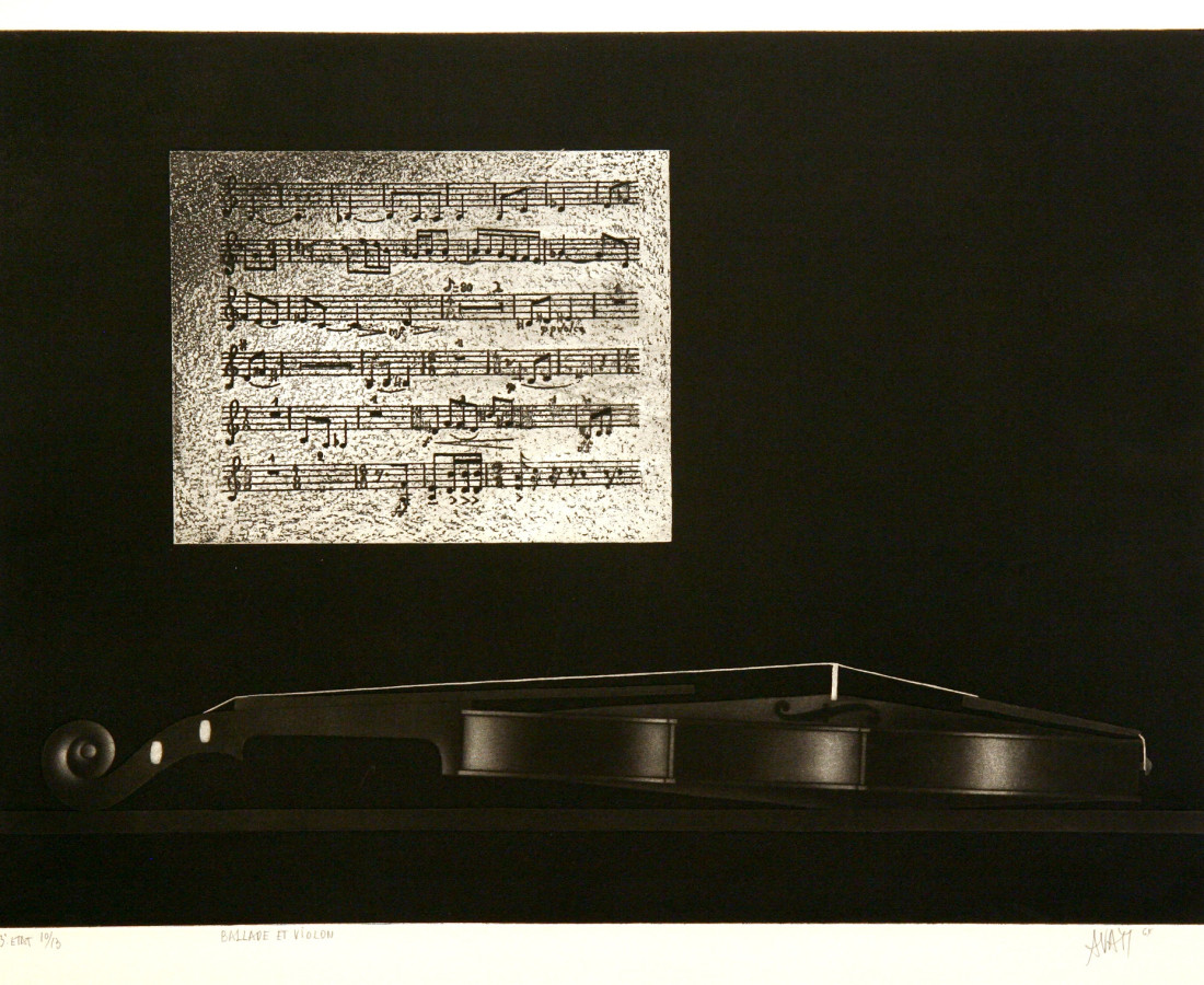 Mario Avati, Ballade et violon, 1964