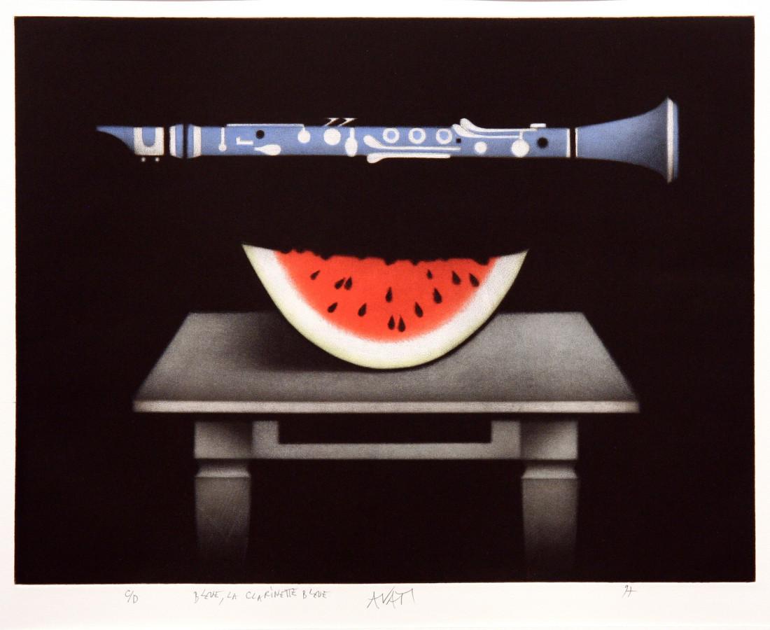 Mario Avati, Bleue, la clarinette bleue, 1997