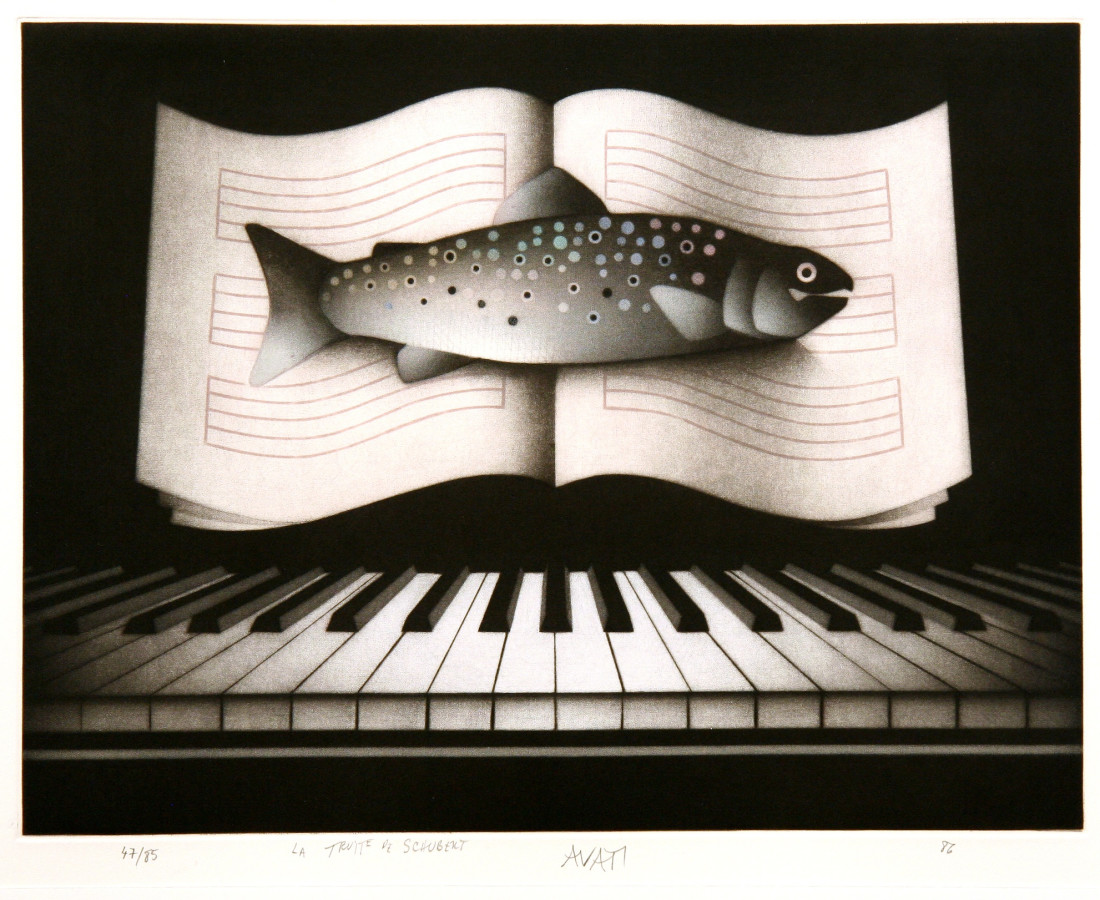 Mario Avati, La truite de Schubert, 1986
