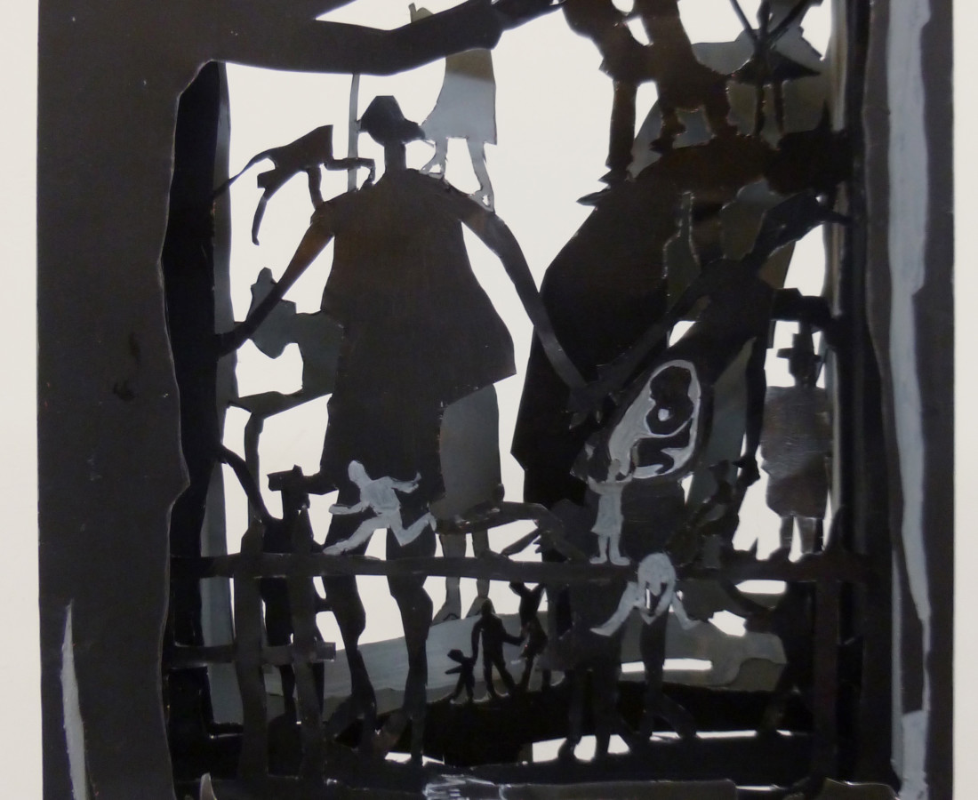 Corinne Veret-Collin, Boîte Généalogies II, 2013