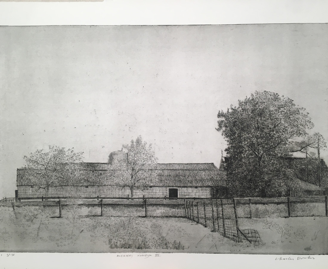 Charles Donker, Boerderij, Kooidijk III (Ranch, Kooidijk III), Circa 2015