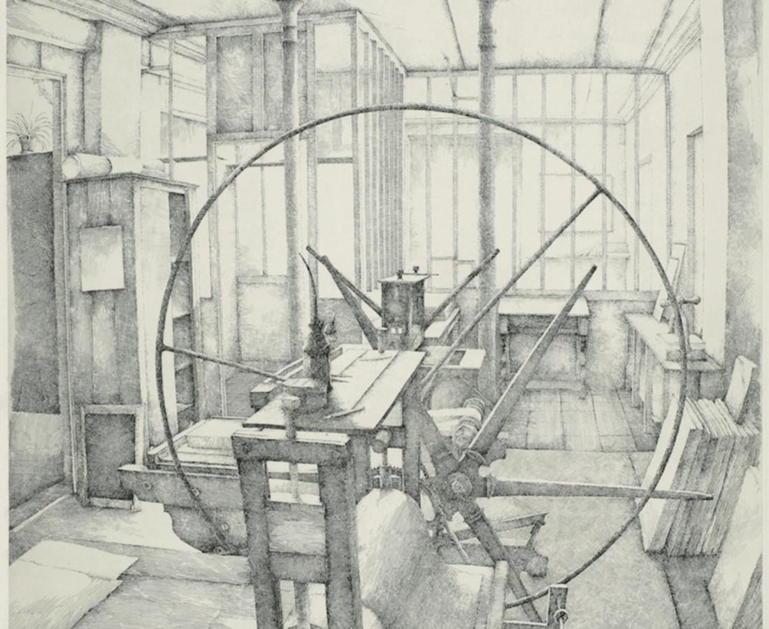 Érik Desmazières, L'Atelier René Tazé, 1979