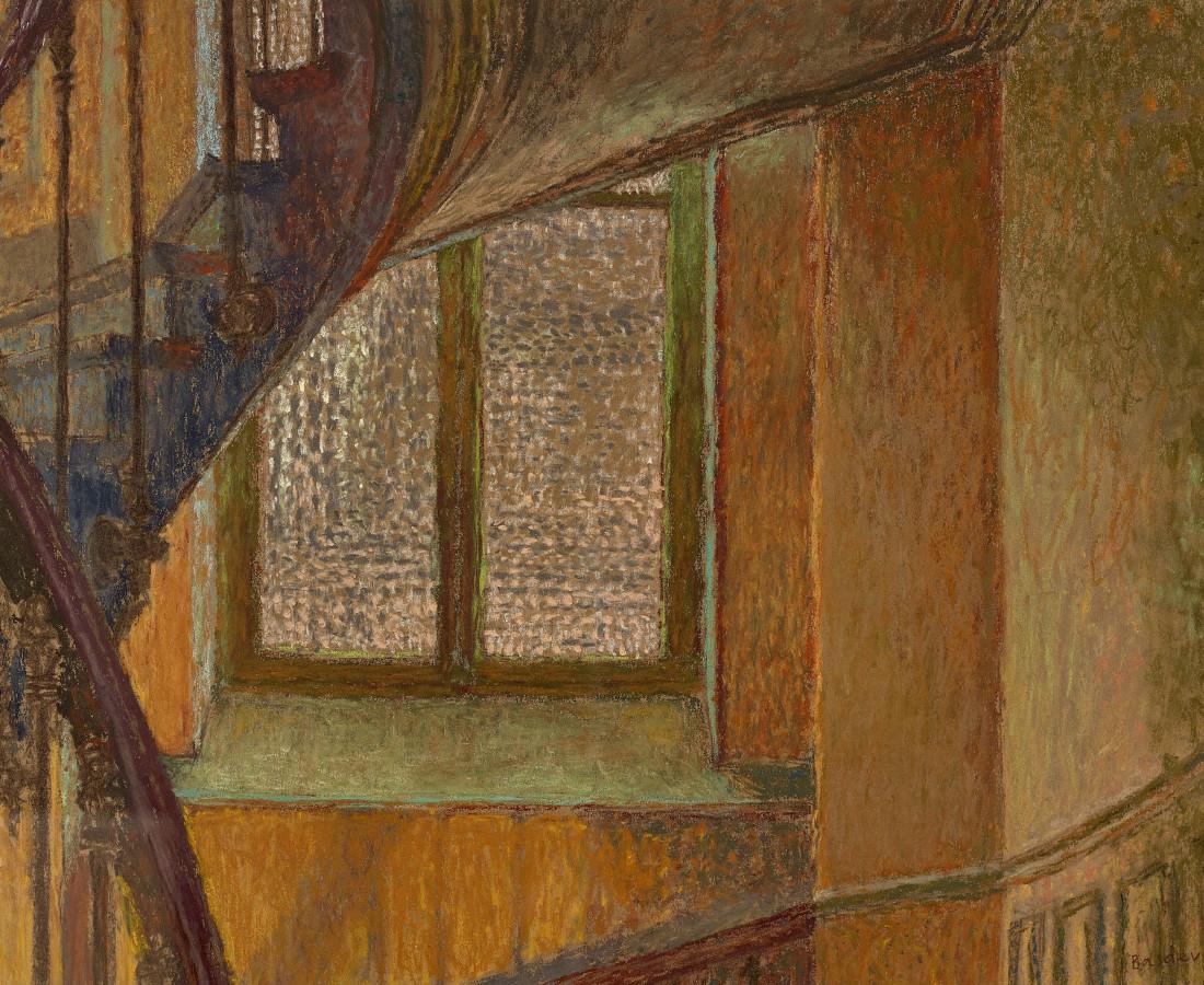 Martin Basdevant, La Villette, escalier., 2017