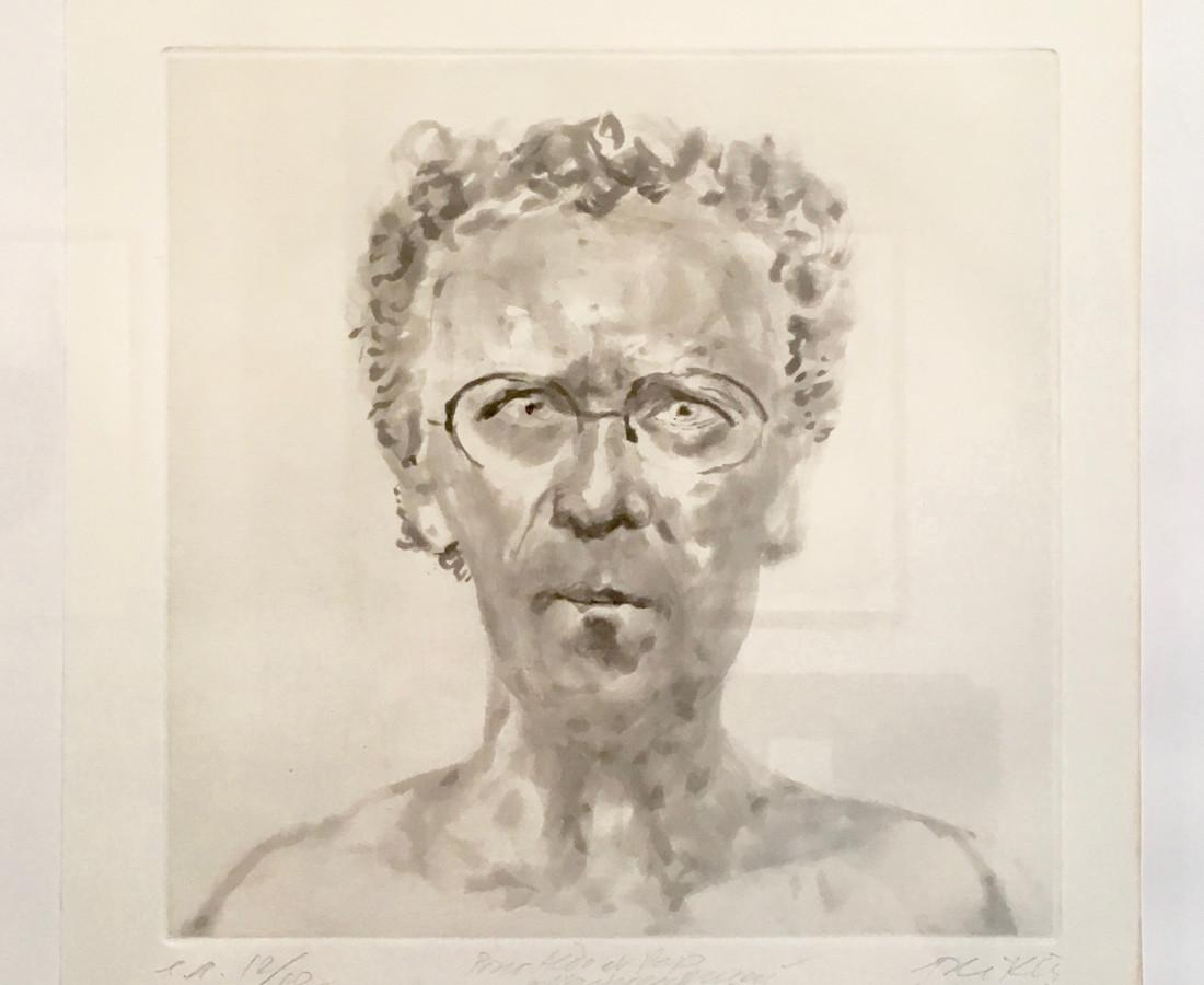 Avigdor Arikha, Autoportrait, 1985