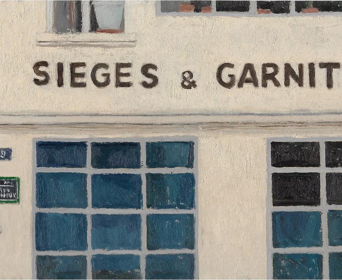 Delphine D. Garcia, Sièges & garniture, 2017