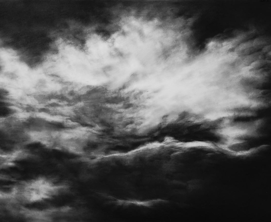 Marjan Seyedin, Sans titre (Nuages), 2016