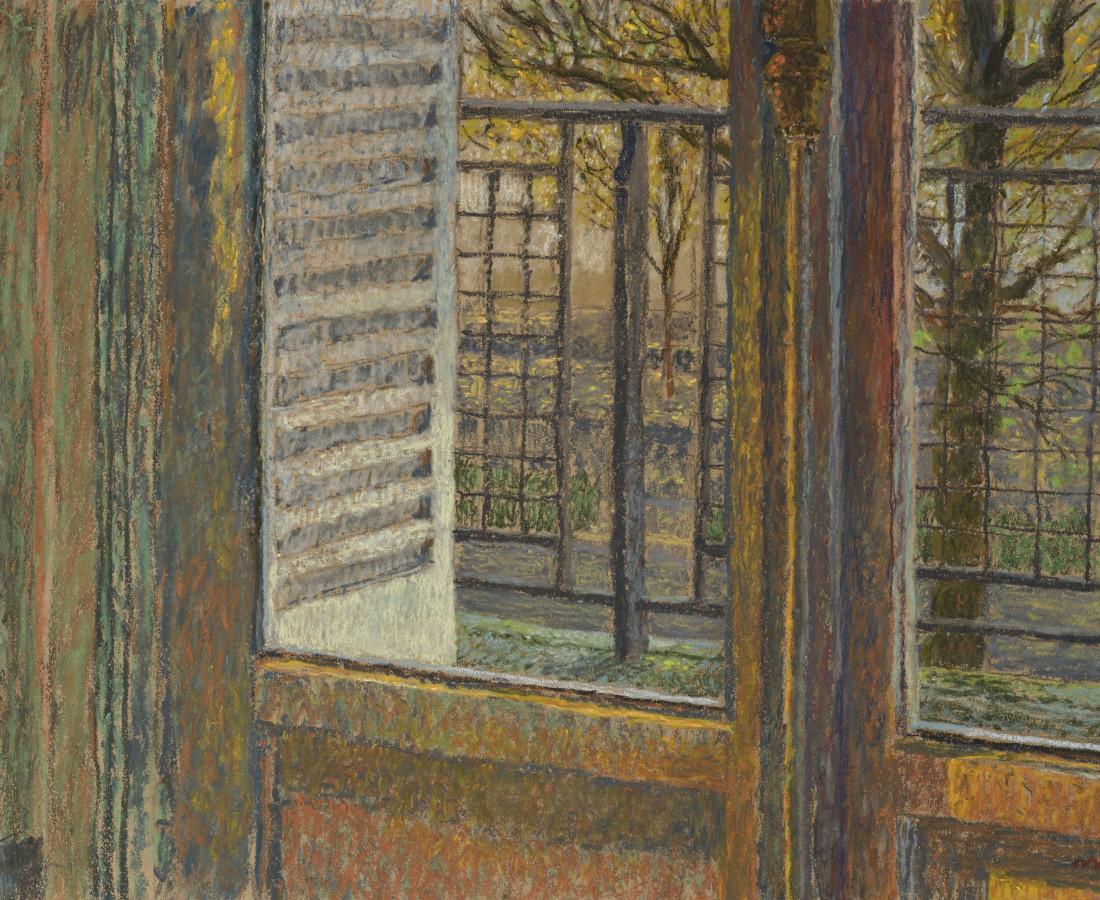 Martin Basdevant, Fenêtre de l'atelier, 2016