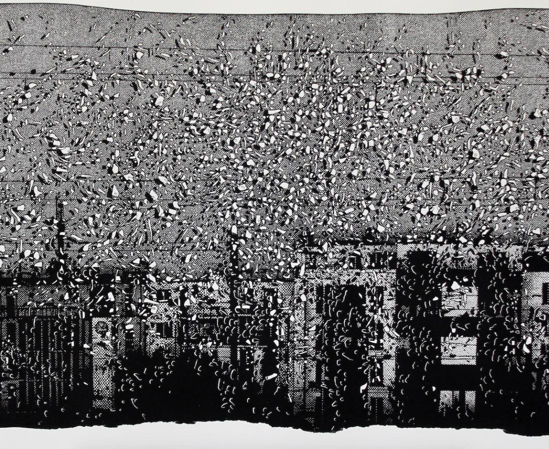 Nicolas Poignon, En face - Les immeubles, 2017