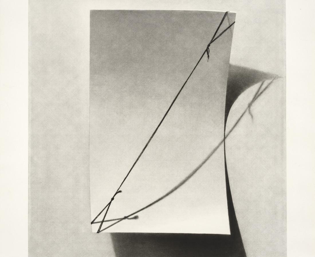 Joerg Ortner, Blanc - Cartelettre tendu, 1974-75