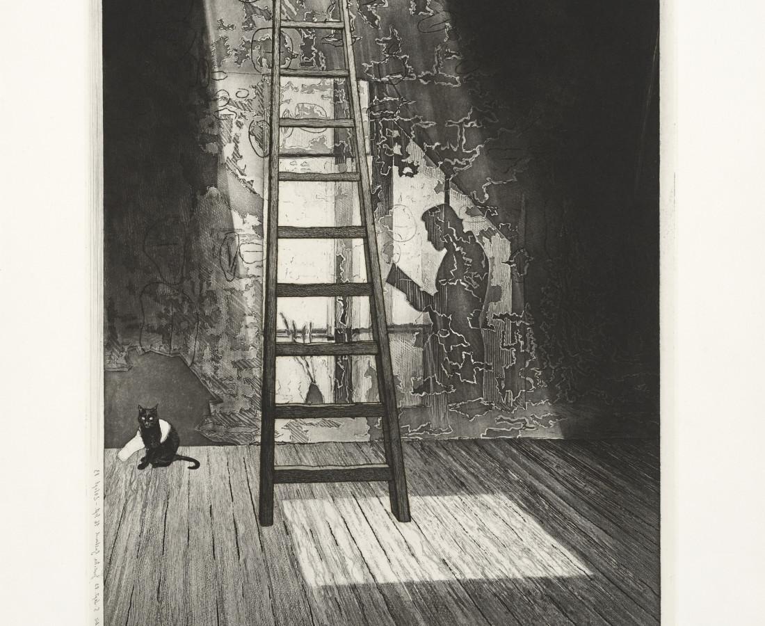 Joerg Ortner, Tholos IV, Le fils se faisait père-mère ; la mère un plancher, le père le mur, 1986