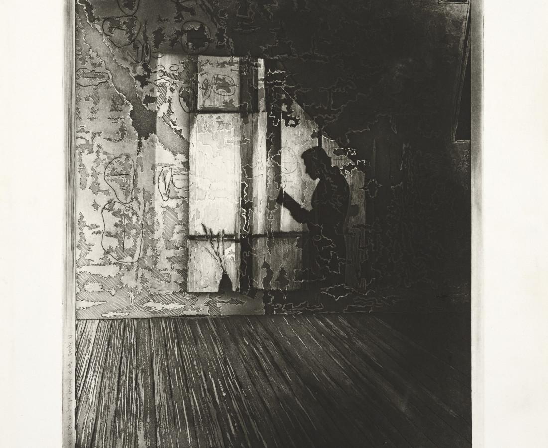 Joerg Ortner, Tholos IV, Le fils se faisait père-mère ; la mère un plancher, le père le mur, 1983