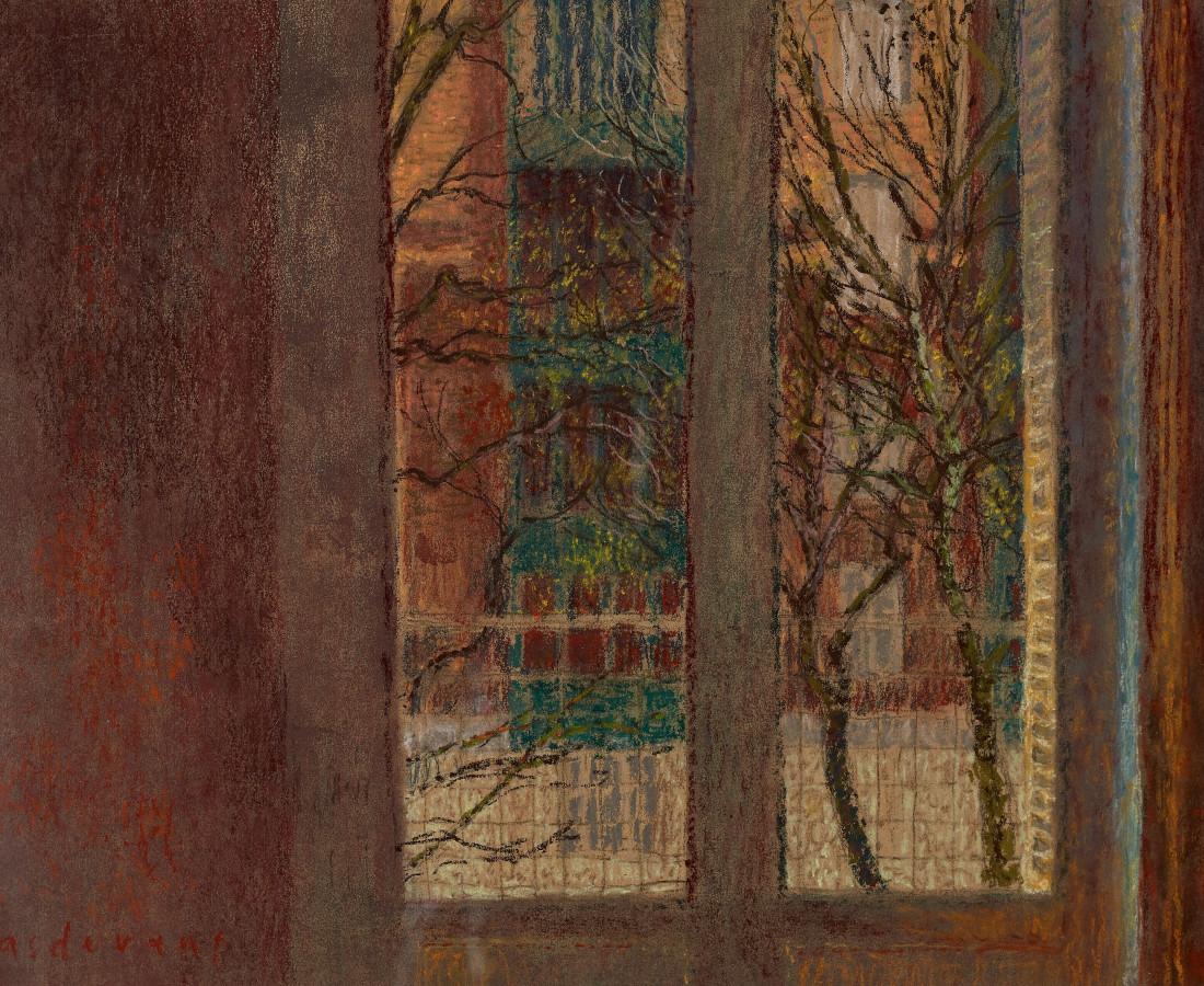 Martin Basdevant, Fenêtre en automne, 2017
