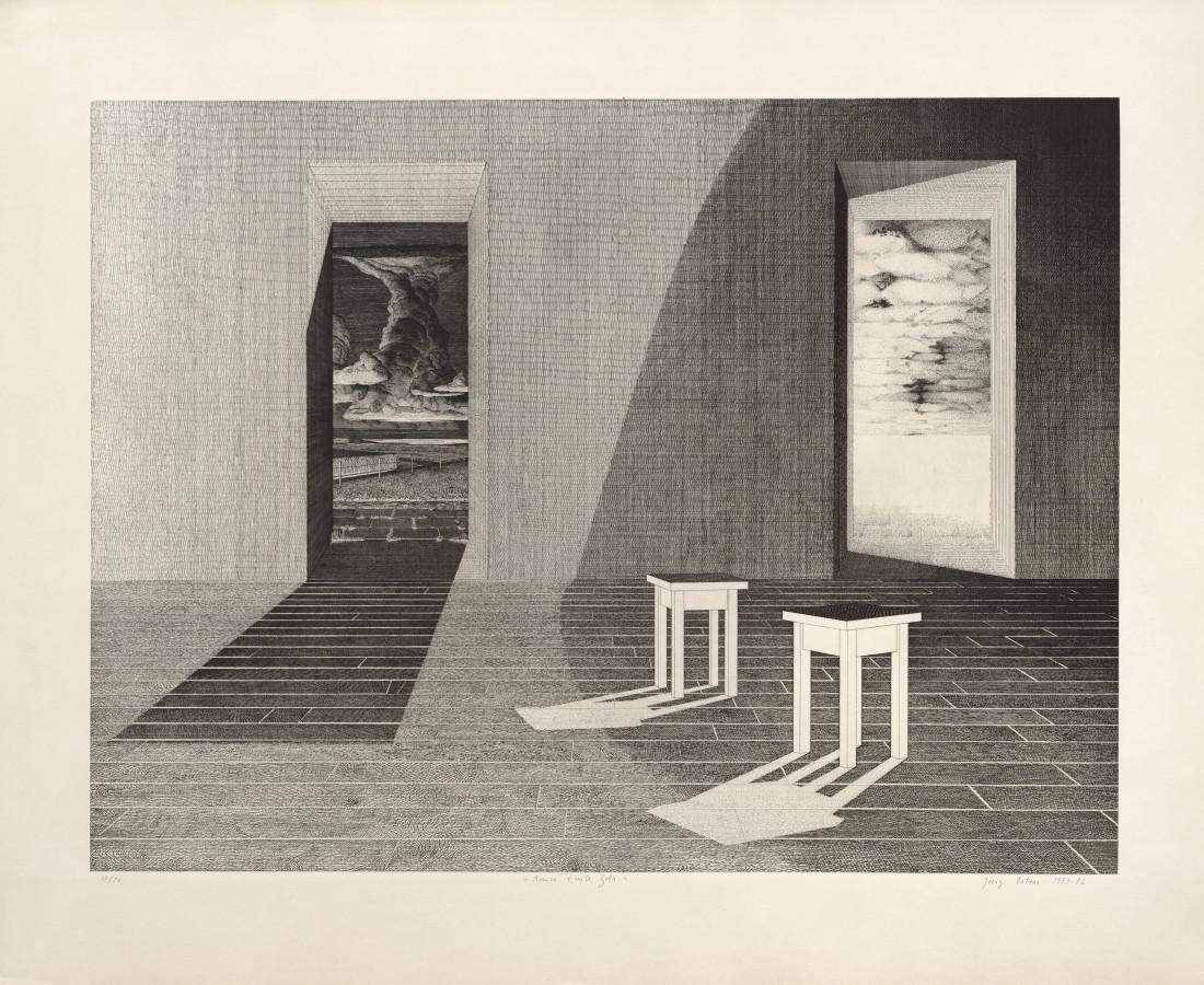 Joerg Ortner, Avenue Emile Zola, 1971-72