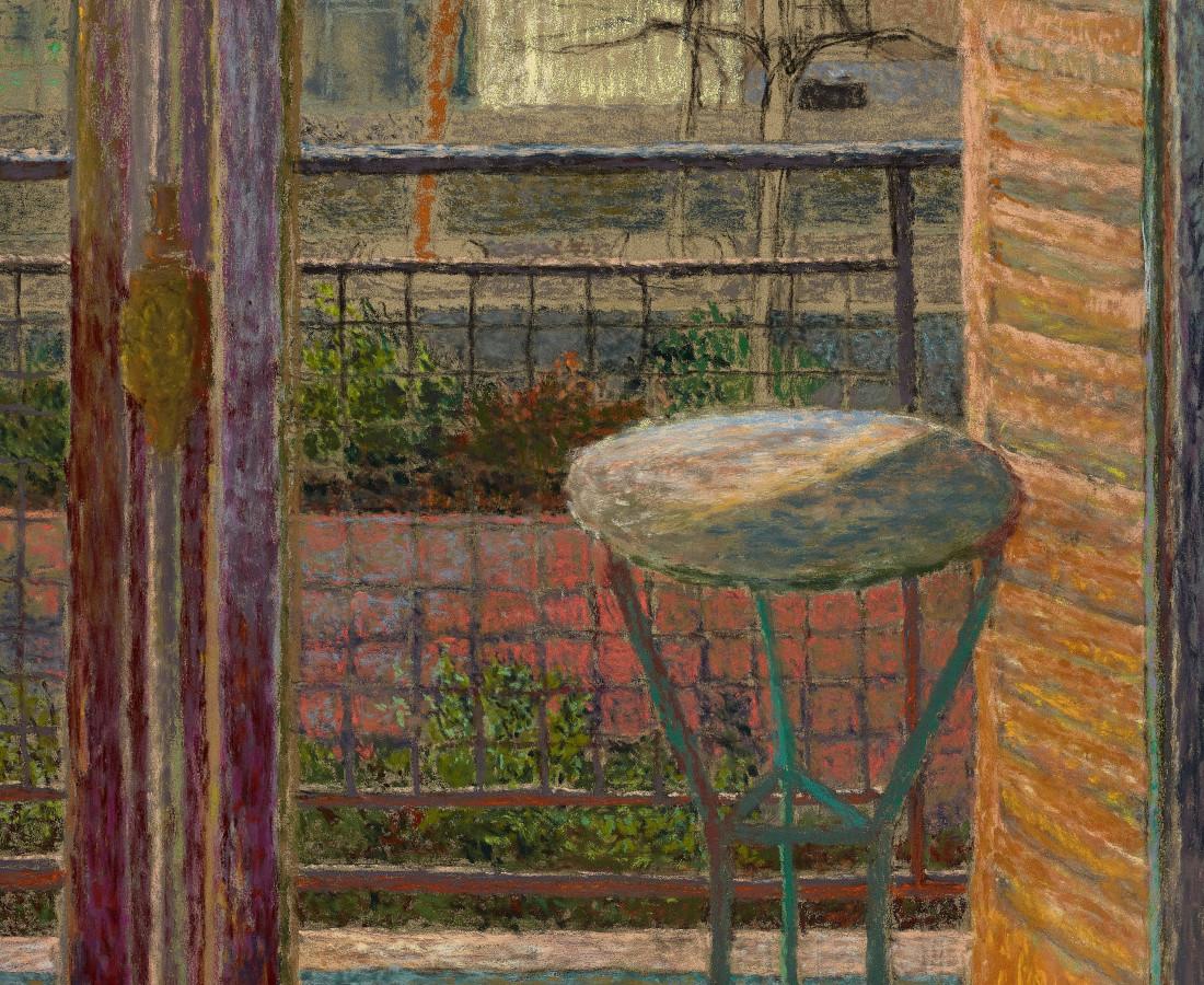 Martin Basdevant, Paysage à la fenêtre, 2018