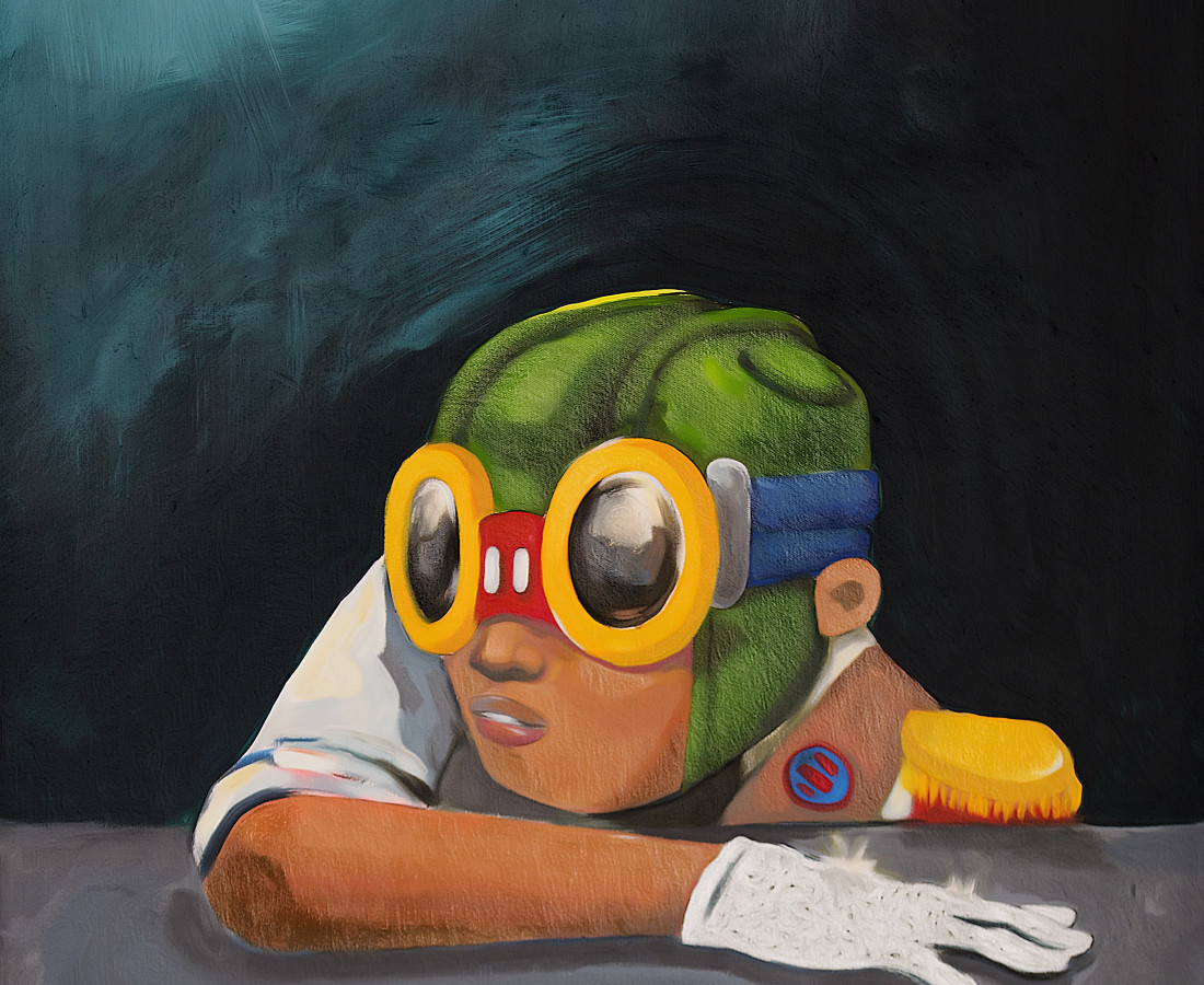 Hebru Brantley Be Like Mike, 2014