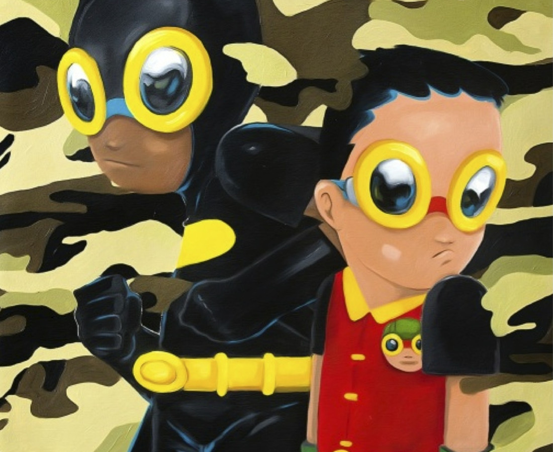 Hebru Brantley Behind Us, 2014