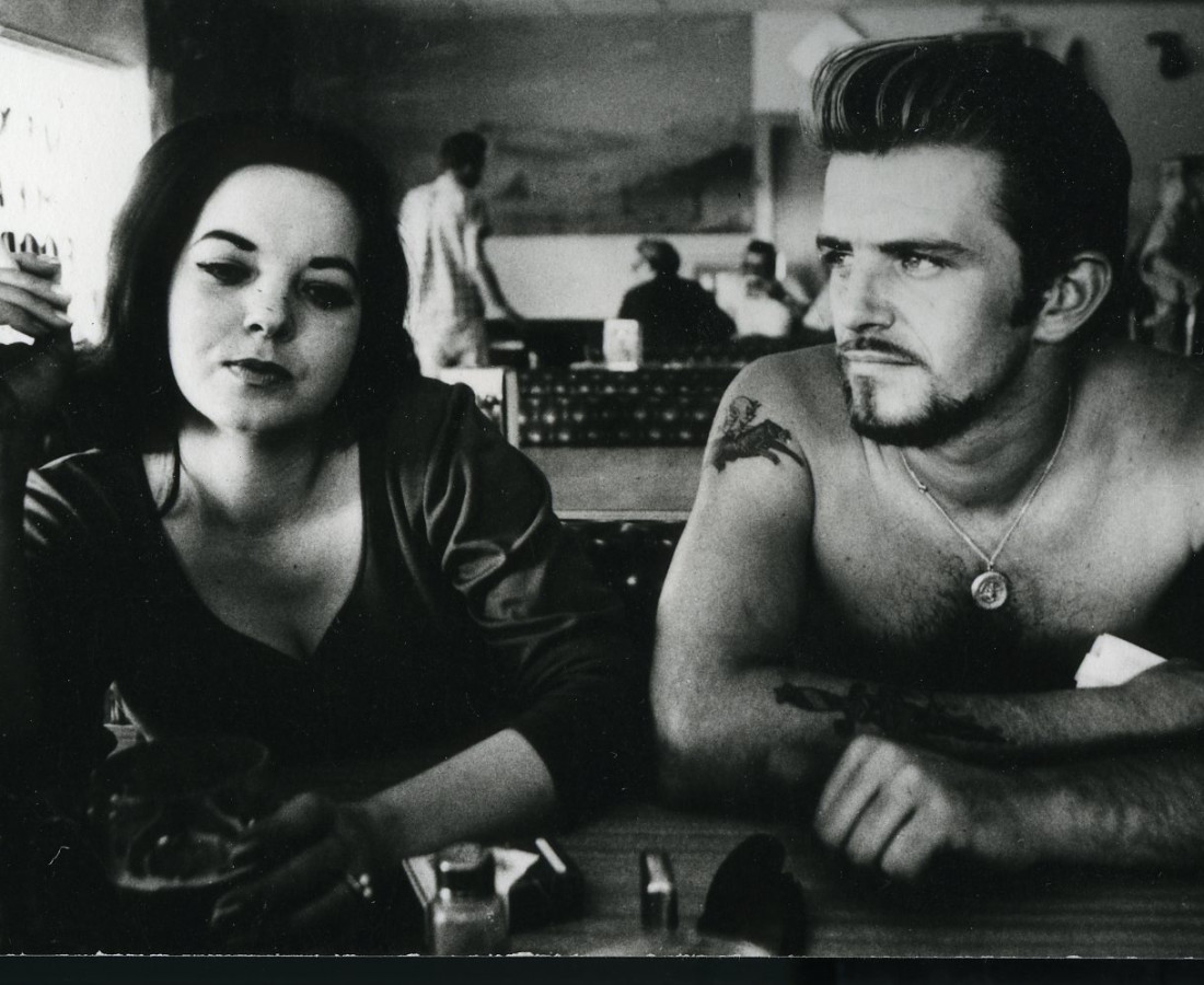 Dennis Hopper Biker Couple, 1961