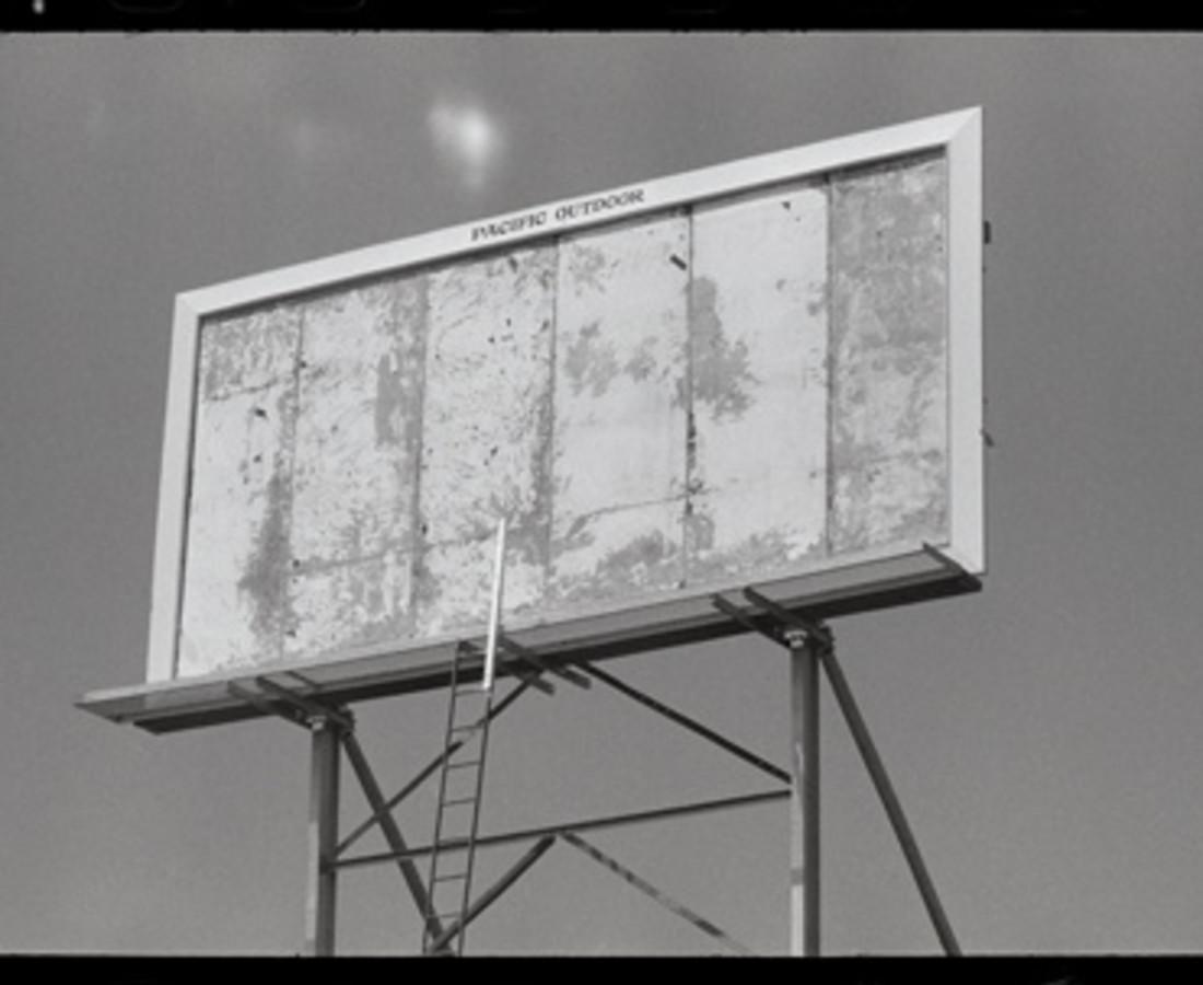 Dennis Hopper Billboard, Los Angeles, 1964