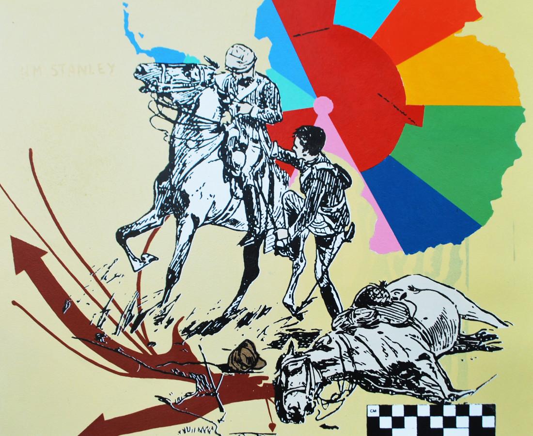 Ryan Metke Congo - Yellow, 2014