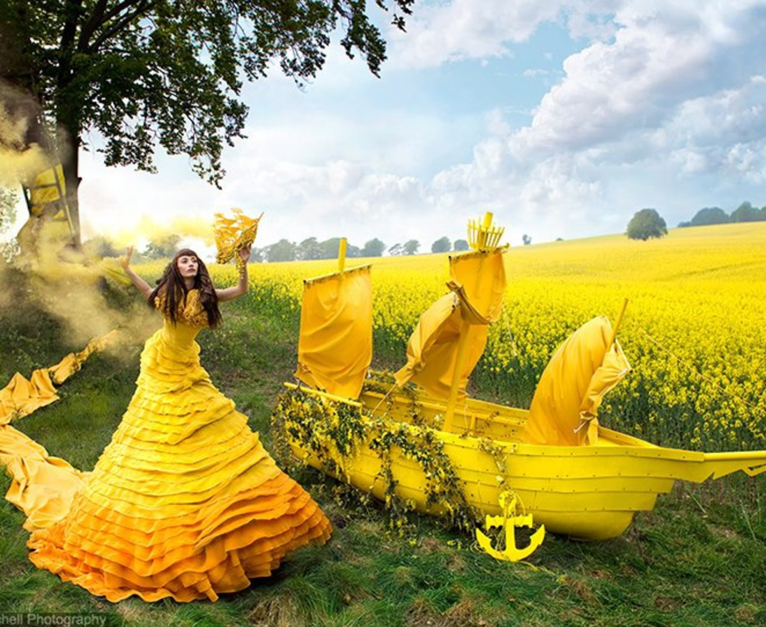 Kirsty Mitchell Gaia's Spell, 2013