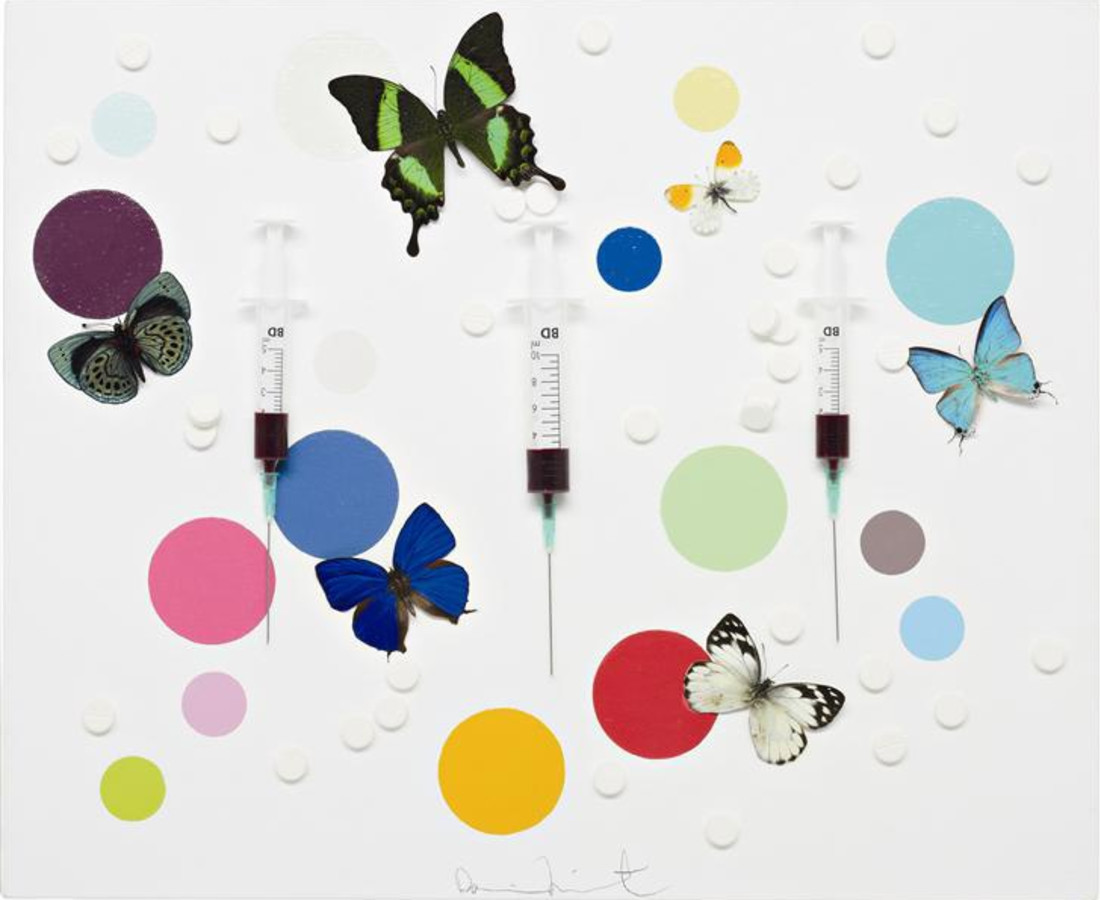 Damien Hirst Happiness, 2008