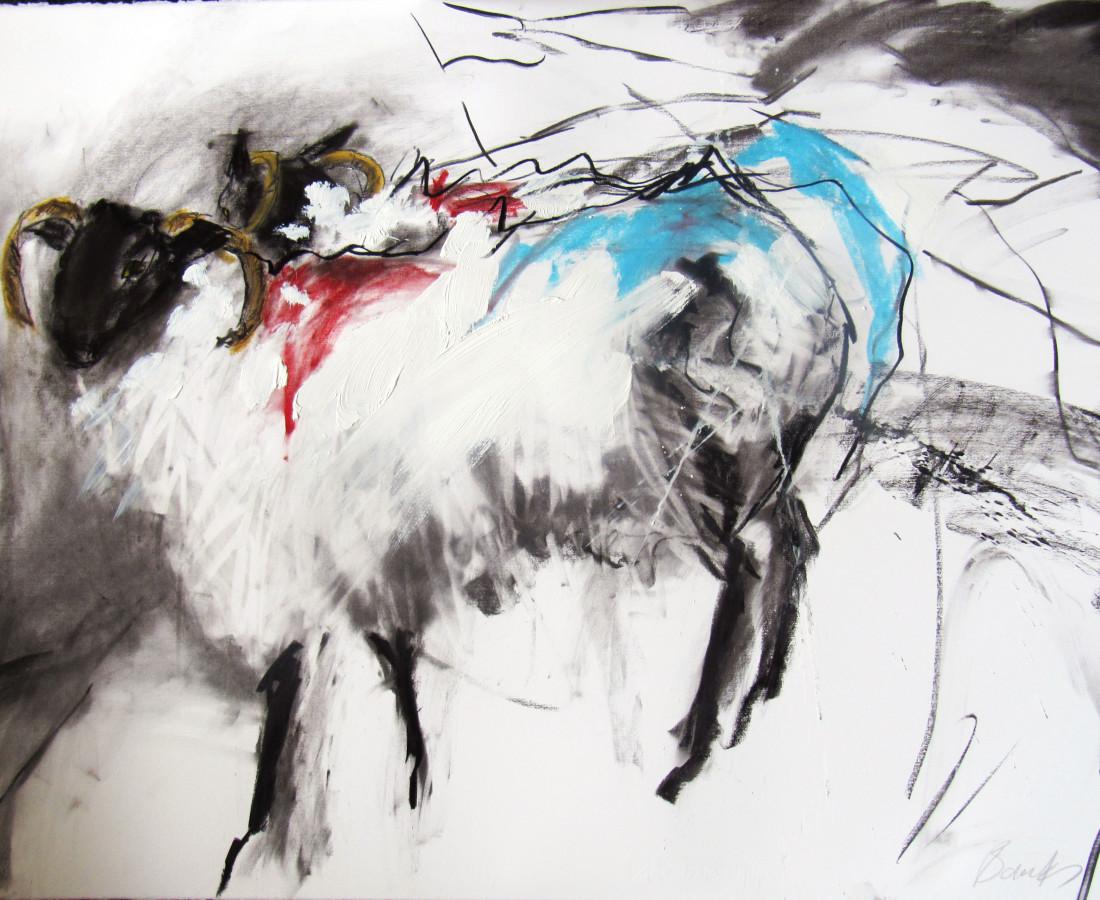 Margo Banks, Two Teeromoyle Sheep