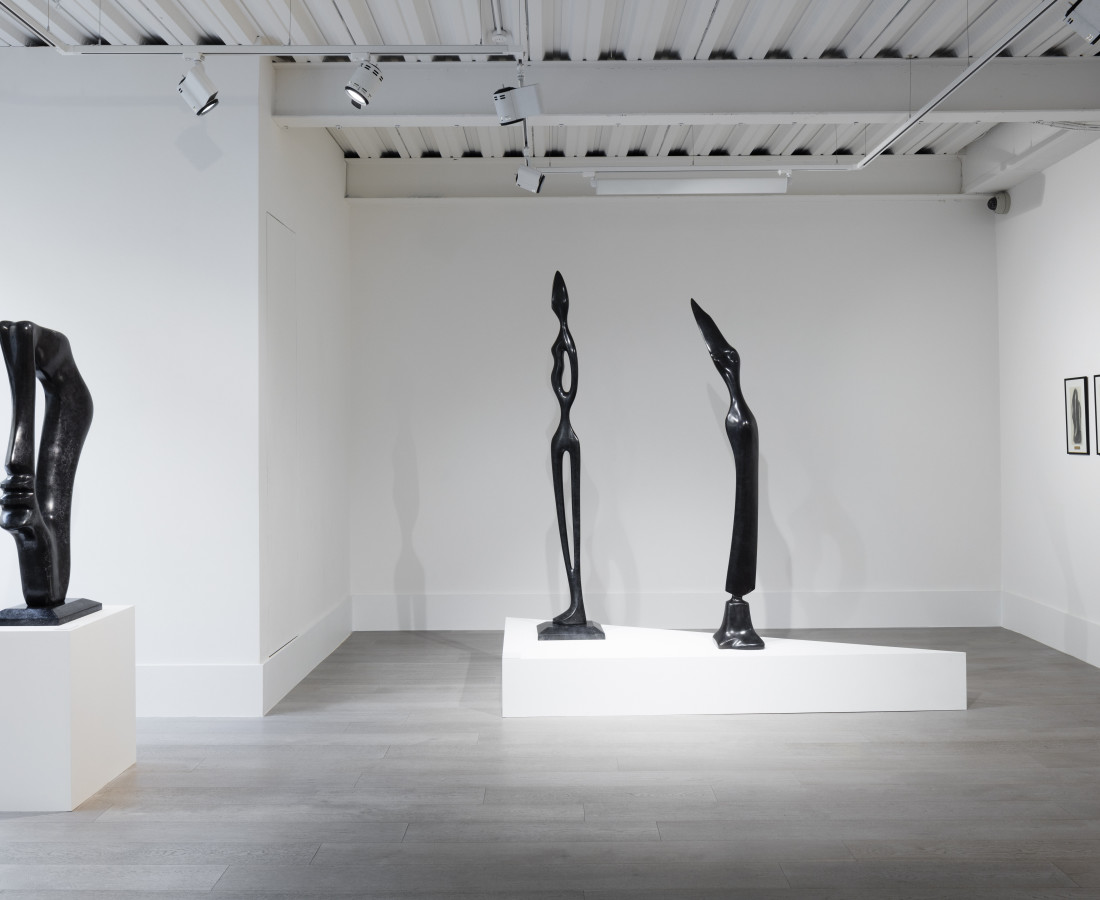 Installation view, Alfred Basbous 'Modernist Pioneer - Selected Works'