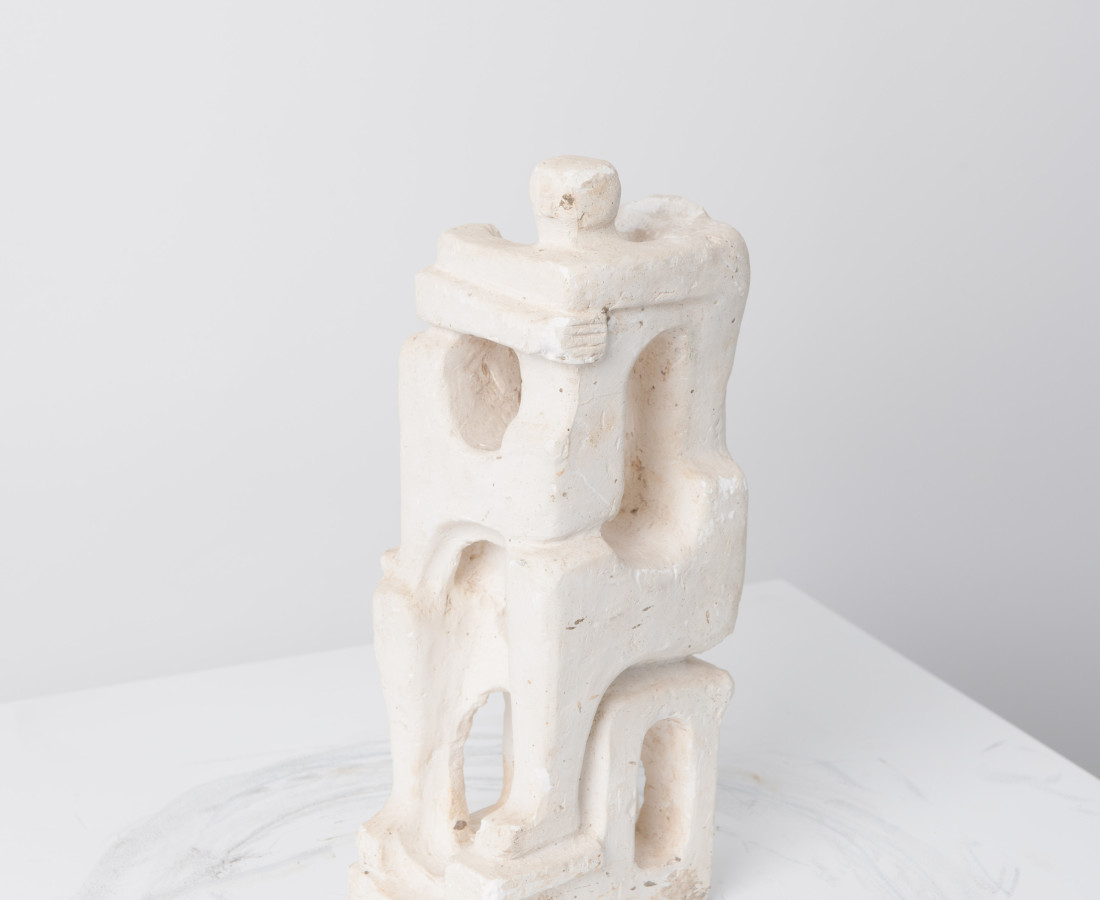 Estate of Alfred Basbous, Family Maquette, 1980-85