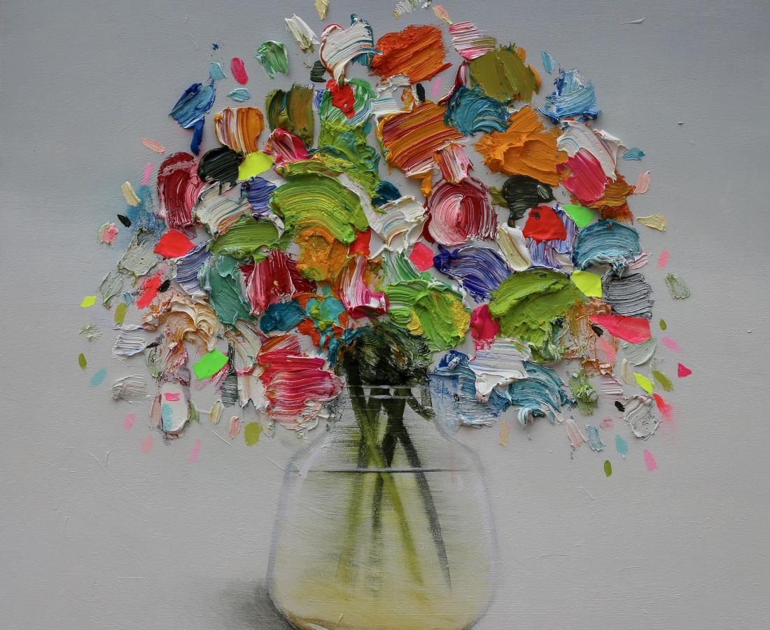 Vibrant Flowers _ Fran Mora
