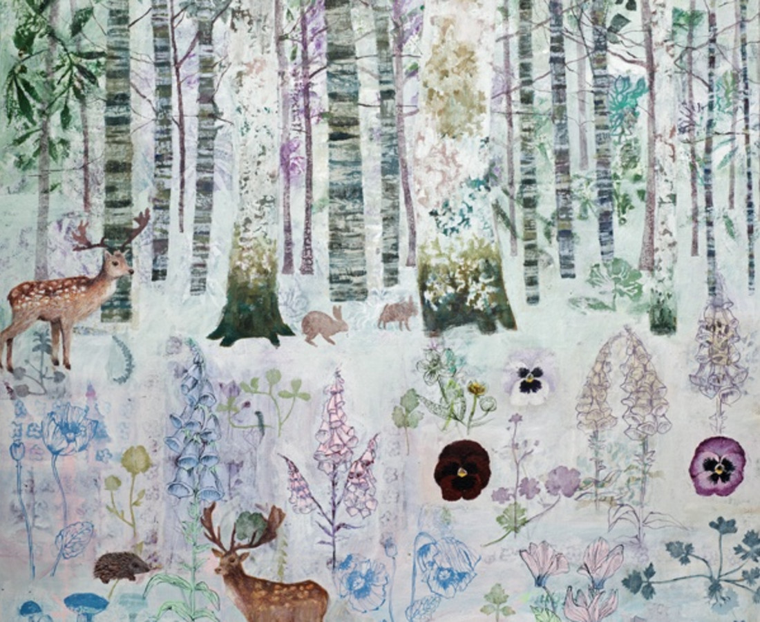 Dawn Stacey, Spring Woodland Light