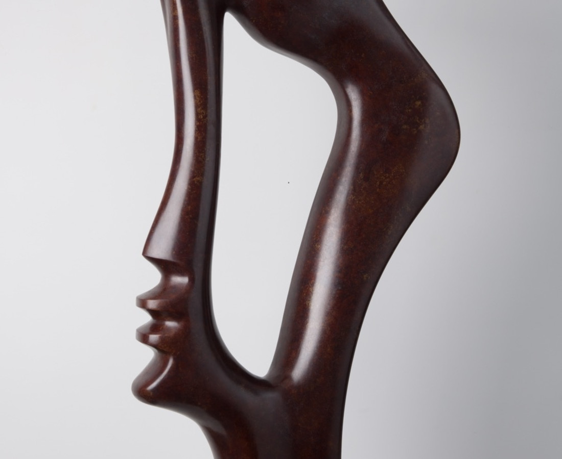 Profile, Bronze edition 1/8. 115 X 15 X 60, 2004