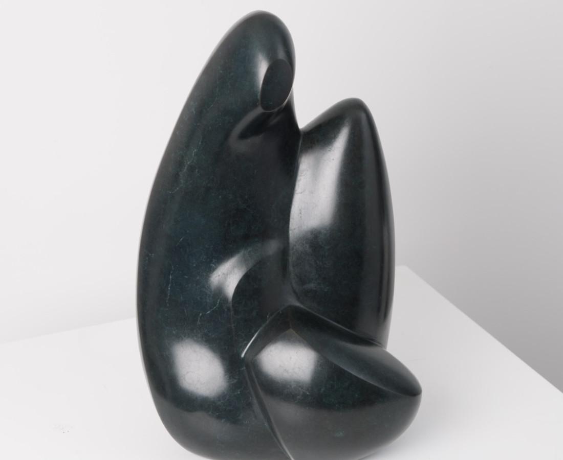 Femme Acroupie, Bronze Edition 1/8. 44 X 20 X 15, 1972