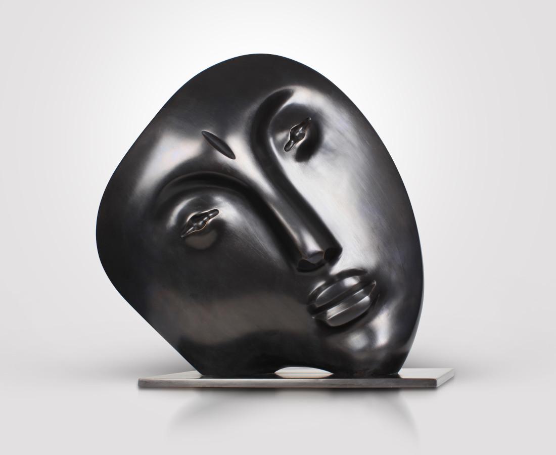 Le Rêveur, Bronze . 34 x 15 cm, 2002