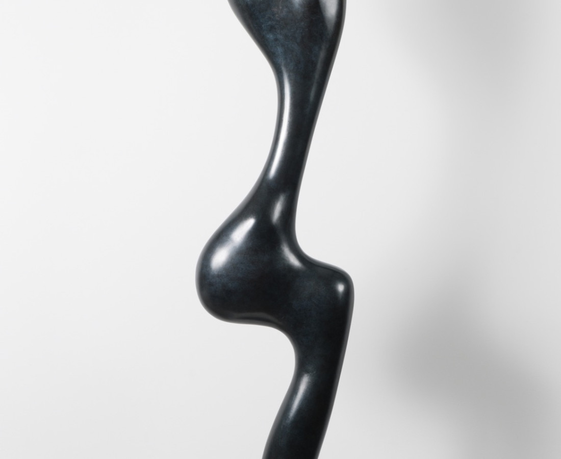 Syrene, Bronze (Black & Green Patina)200 x 45 x 30, 1998