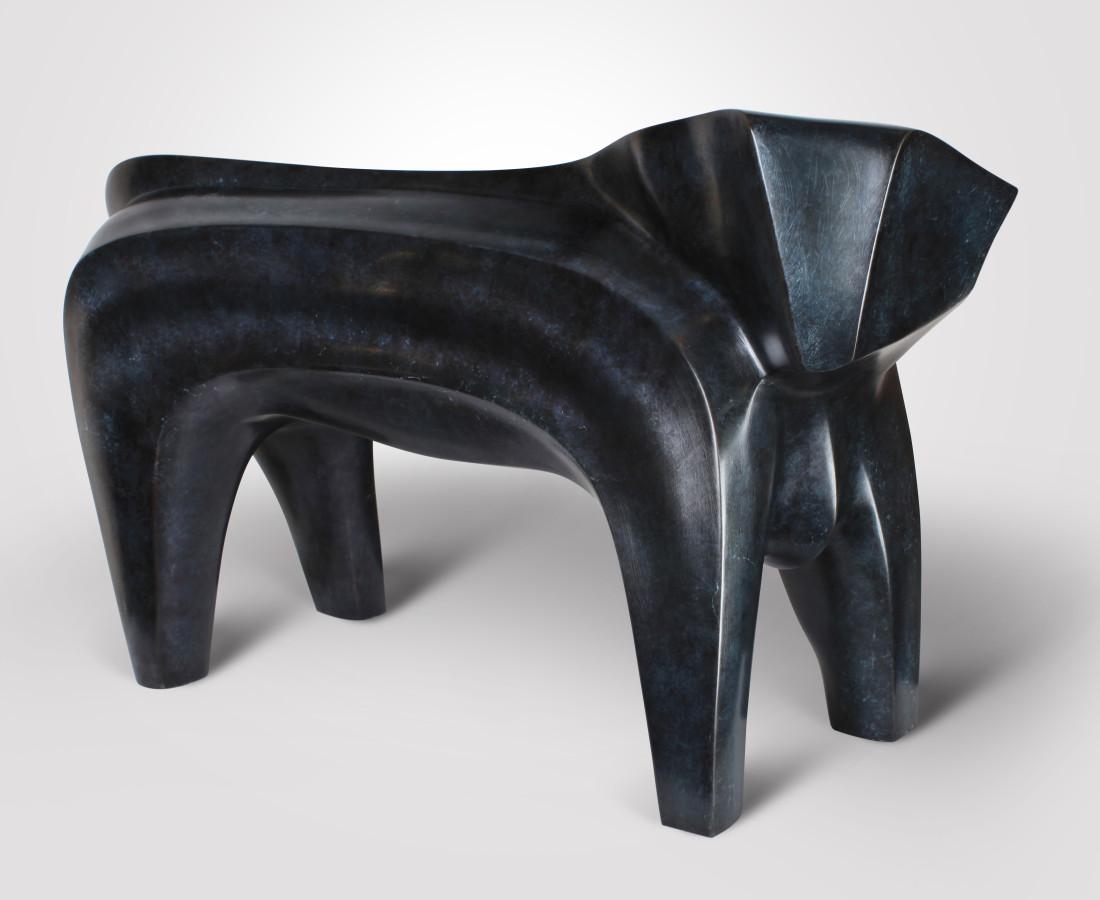 Taureau, Bronze 6/8, 50 x 70 x 30, 2003
