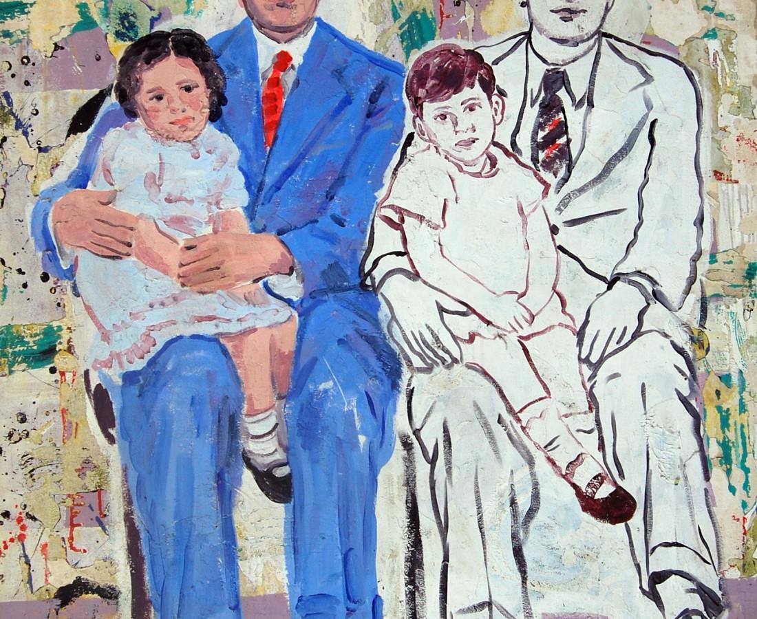 Blue Suit, 2007 Acrylic on Canvas 120 x 150 cm