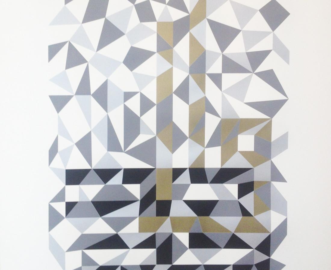 Huwa, Silkscreen on Archival Paper, 122 x 152, 2013