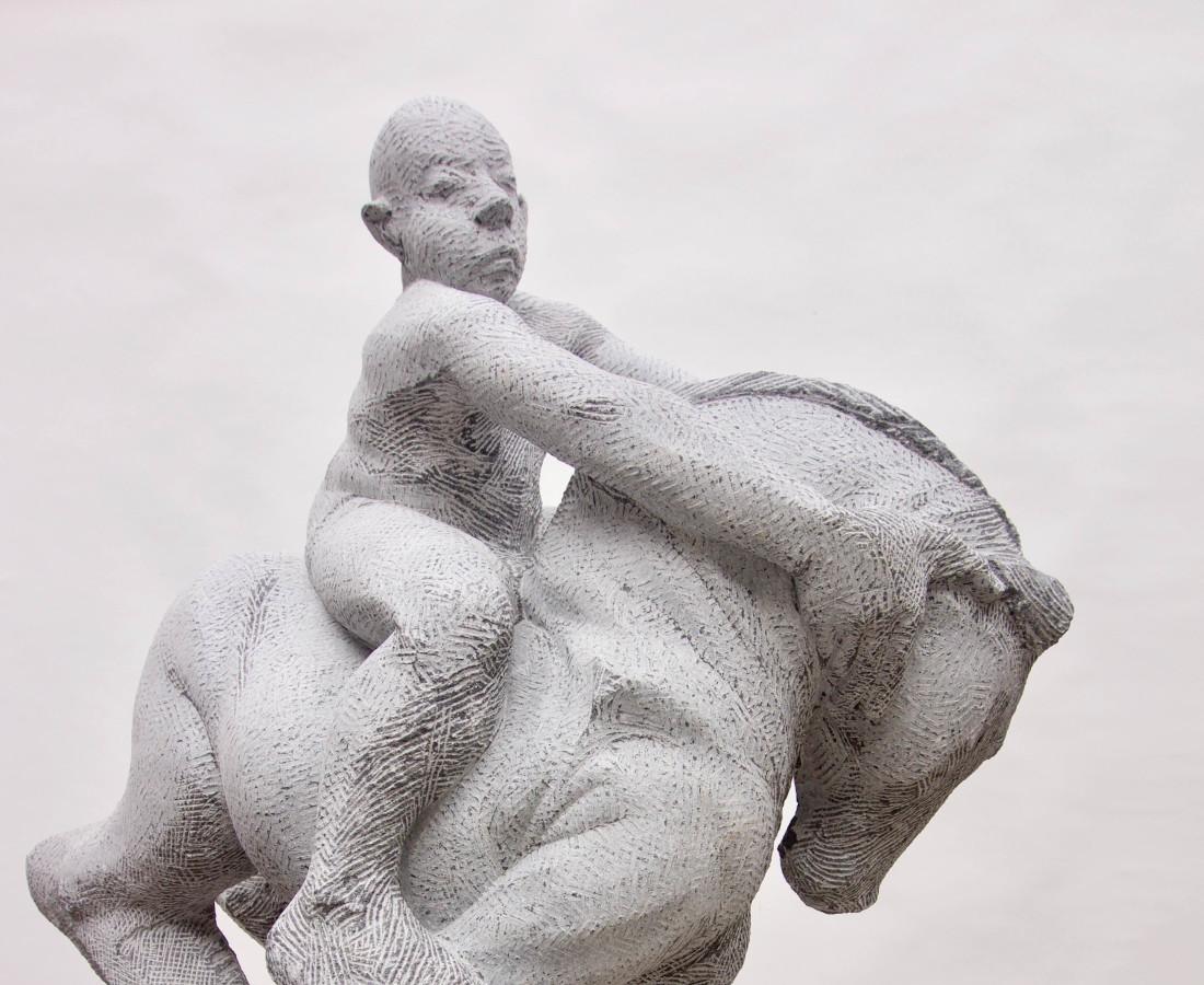 Michael Quane, Horse and Rider I