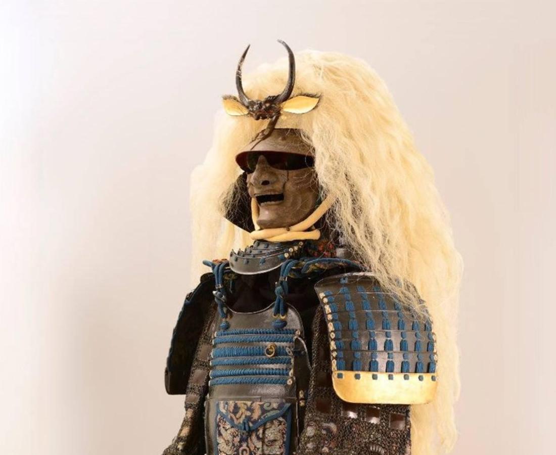 Katchu Shi, Spectacular Japanese Samurai Armor in the style of a legendary warrior, c. 1800