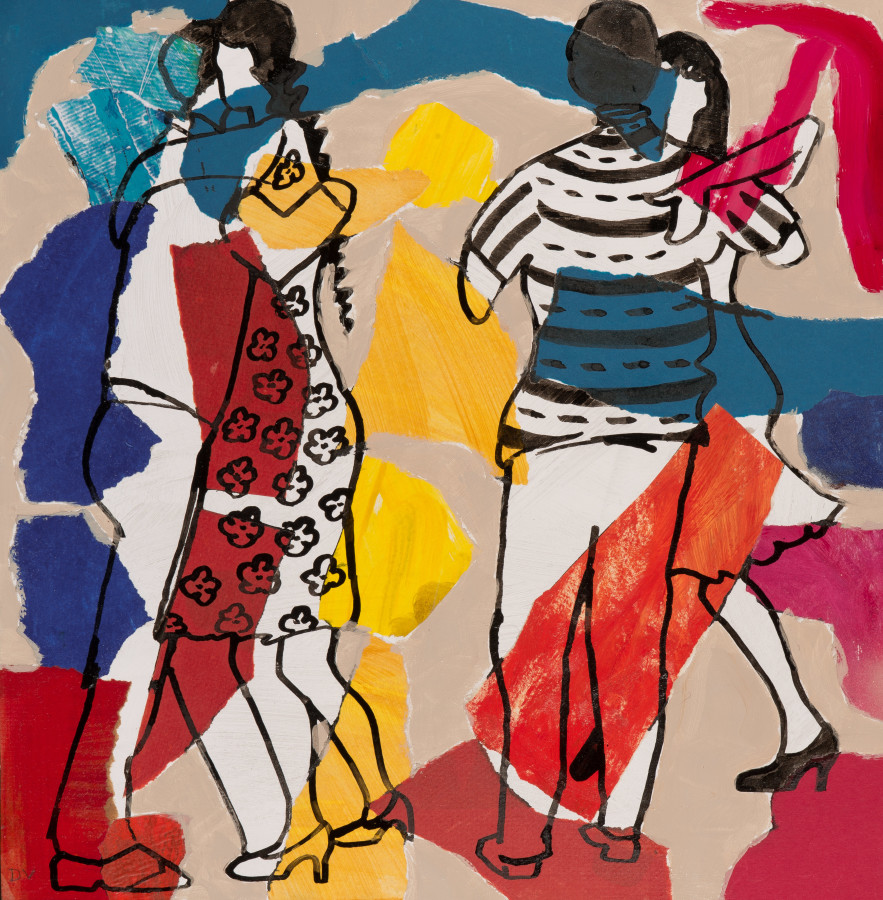 "<span class=""artist""><strong>Dione Verulam</strong></span>, <span class=""title""><em>Tango III (London Gallery)</em></span>"